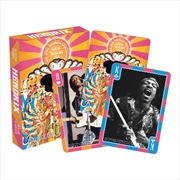 Jimi Hendrix Playing Cards   Merchandise