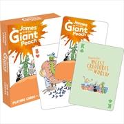 Roald Dahl – James Playing Cards MIN 3 | Merchandise