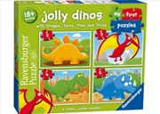 Ravensburger Jolly Dinos My First Puzzle | Merchandise