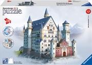 Ravensburger Neuschwanstein Castle 3D Puzzle - 216 Pieces | Merchandise