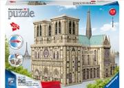 Notre Dame 3D Puzzle 216 Piece | Merchandise