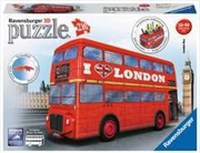 London Bus 3D Puzzle, 216 Piece | Merchandise