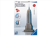 Ravensburger Empire State Building 3D Puzzle - 216 Pieces | Merchandise