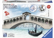 Ravensburger Venice's Rialto Bridge 3D Puzzle - 216 Pieces | Merchandise