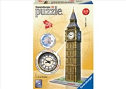 Ravensburger Big Ben with Clock 3D Puzzle - 216 Pieces | Merchandise