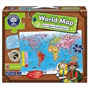World Map Jigsaw And Poster | Merchandise