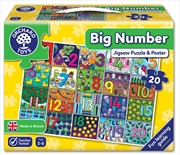 Big Number Jigsaw And Poster | Merchandise