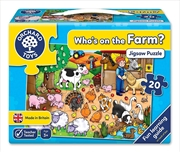 Orchard Toys Who's on the Farm 20pc | Merchandise