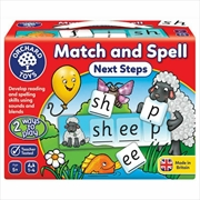 Match And Spell Next Steps | Merchandise