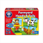 Farmyard Heads And Tails | Merchandise