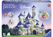 Disney Princesses Castle 3D Puzzle 216 Piece | Merchandise