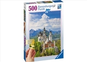 Ravensburger Neuschwanstein Castle Puzzle - 500 Pieces | Merchandise