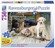 Ravensburger - Ruff Day Large Format Puzzle 750pc | Merchandise