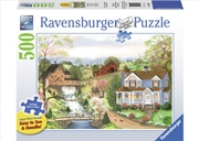Ravensburger - 500pc Fishing Lesson Large Format Jigsaw | Merchandise