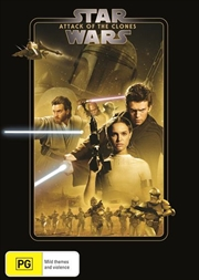 Star Wars - Episode II - Attack Of The Clones | New Line Look | DVD