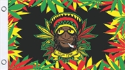 Rasta Dude Flag 3'X5' | Merchandise