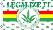 Legalize It Flag 3'X5' | Merchandise