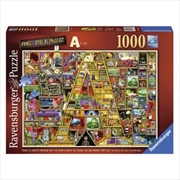 Awesome Alphabet A 1000pc | Merchandise