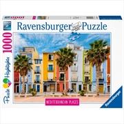 Mediterranean Spain 1000 Piece Puzzle | Merchandise