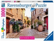 Ravensburger - Mediterranean France Puzzle 1000 Piece  | Merchandise