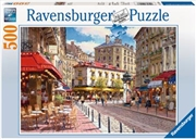 Ravensburger - Quaint Shops Puzzle 500pc | Merchandise