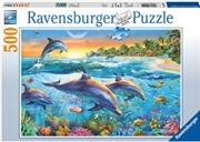 Ravensburger - Dolphin Cove Puzzle 500pc | Merchandise