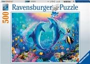 Ravensburger - Dancing Dolphins Puzzle 500pc   Merchandise