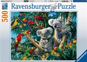Ravensburger - Koalas in a Tree Puzzle 500pc | Merchandise