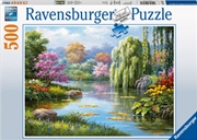 Ravensburger - Romantic Pond View Puzzle 500pc | Merchandise