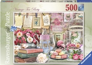 Vintage Tea Party 500pc | Merchandise
