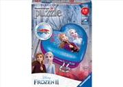 Frozen 2 - 3D Heart 54 Piece Puzzle | Merchandise
