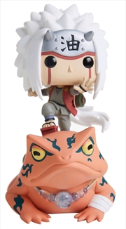 Naruto Shippuden - Jiraiya on Toad US Exclusive Pop! Ride [RS] | Pop Vinyl