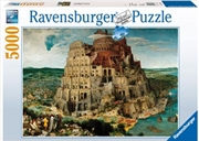 Ravensburger - The Tower of Babel Puzzle 5000 Piece   Merchandise