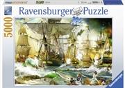 Ravensburger - Battle on High Sea Puzzle 5000pc | Merchandise