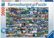 Ravensburger - 99 Beautiful Places of Europe 3000pc | Merchandise