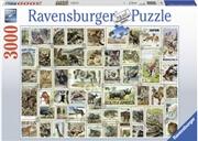 Ravensburger - Animal Stamps Puzzle 3000 Piece     | Merchandise
