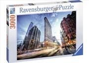 Ravensburger - Flat Iron Building Puzzle 3000 Piece | Merchandise