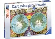 Ravensburger - Antique Map Puzzle 3000pc | Merchandise
