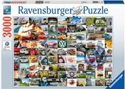 99 Vw Bulli Moments 3000 Piece Puzzle | Merchandise