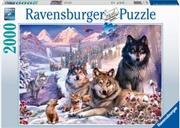 Wolves In The Snow 2000pc | Merchandise
