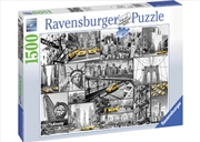 Ravensburger - New York Cabs Puzzle 1500pc | Merchandise