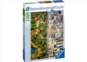 Ravensburger - Divided Town Puzzle 1500pc | Merchandise
