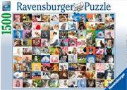 Ravensburger - 99 Cats Puzzle 1500pc | Merchandise