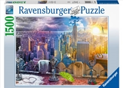 Seasons Of New York 1500 Piece Puzzle | Merchandise