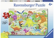 Time Traveling Dinos 60 Piece Puzzle | Merchandise