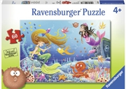 Ravensburger - Mermaid Tales Puzzle 60pc | Merchandise