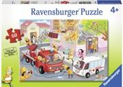 Ravensburger - Firefighter Rescue! Puzzle 60 Piece | Merchandise