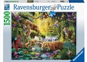 Tranquil Tigers 1500 Piece Puzzle | Merchandise