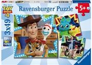 Ravensburger - Disney Toy Story 4 Puzzle 3x49 Piece | Merchandise