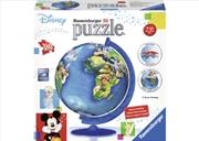 Ravensburger - Disney Globe Puzzleball 180 Piece Puzzle | Merchandise